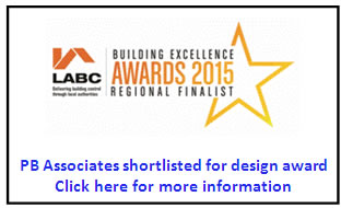 PB Associates shortlisted for design award