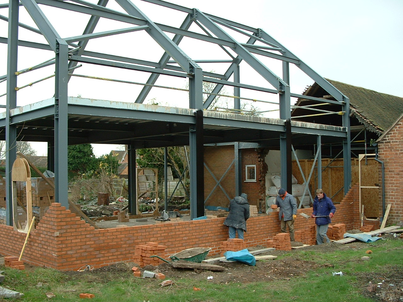 Pb associates church projects for Upton builders